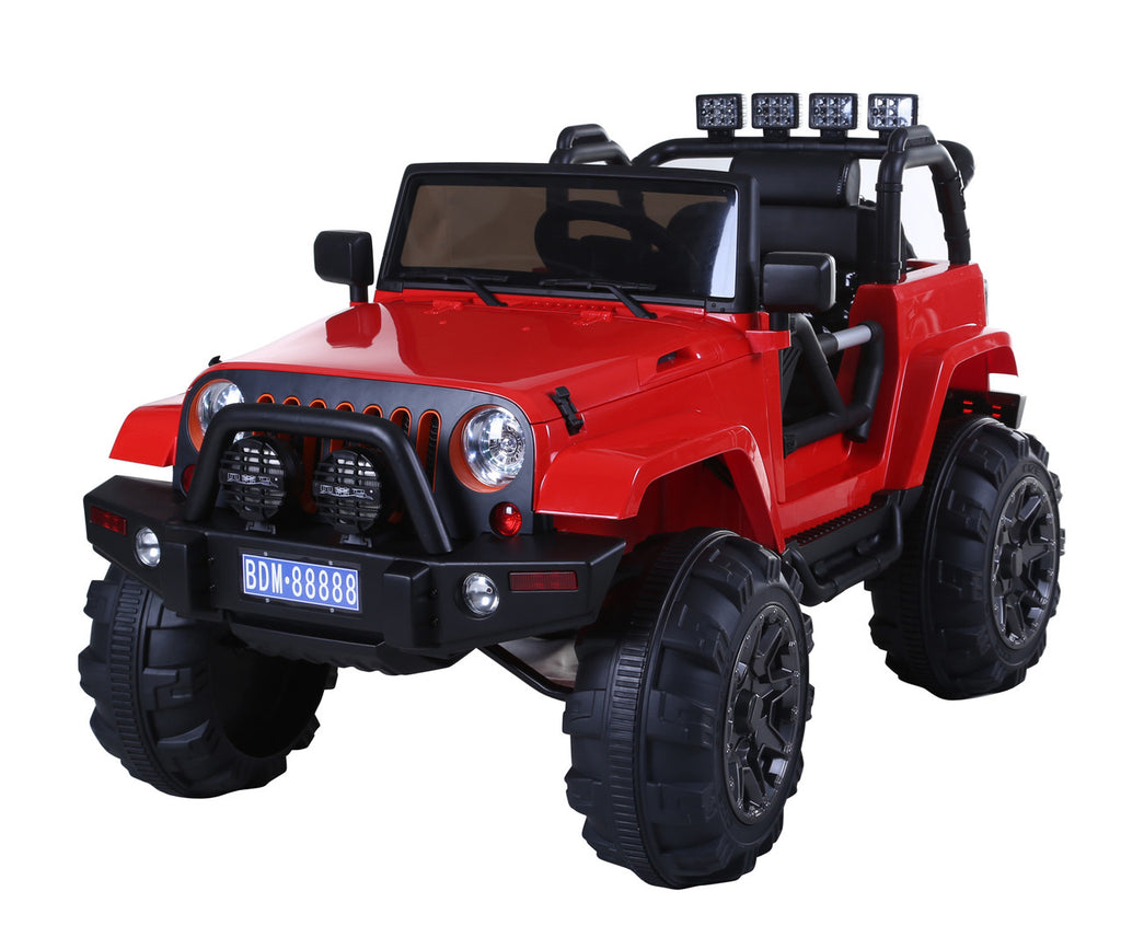 jeep wrangler style ride on truck with 24g remote control