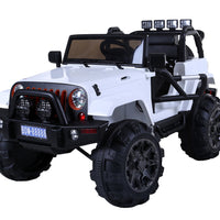 Rambler Lifted Ride On jeep with 2.4G Remote Control