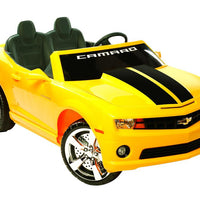 bumblebee Chevrolet Camaro 2 Seat Ride On Sports Car