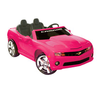Pink Chevrolet Camaro 2 Seat Ride On Sports Car
