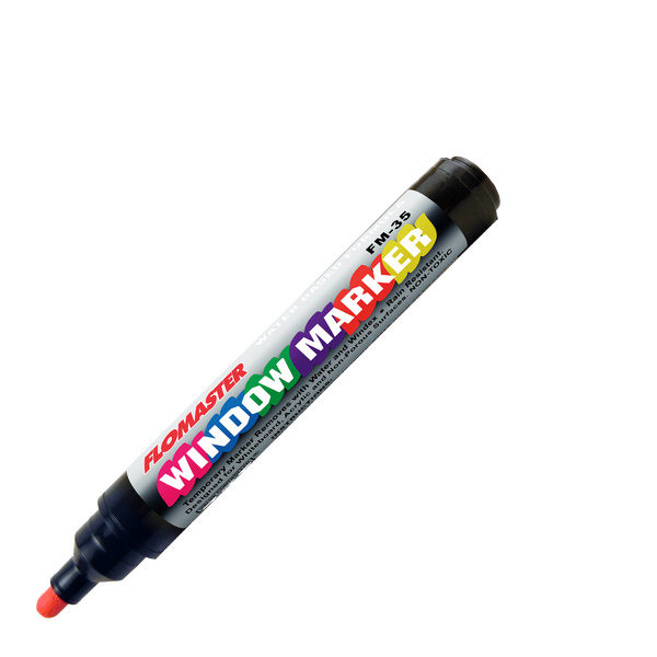 FM-35 Flomaster Auto Body and Glass Marker - Fluorescent Bullet (Box of 12)