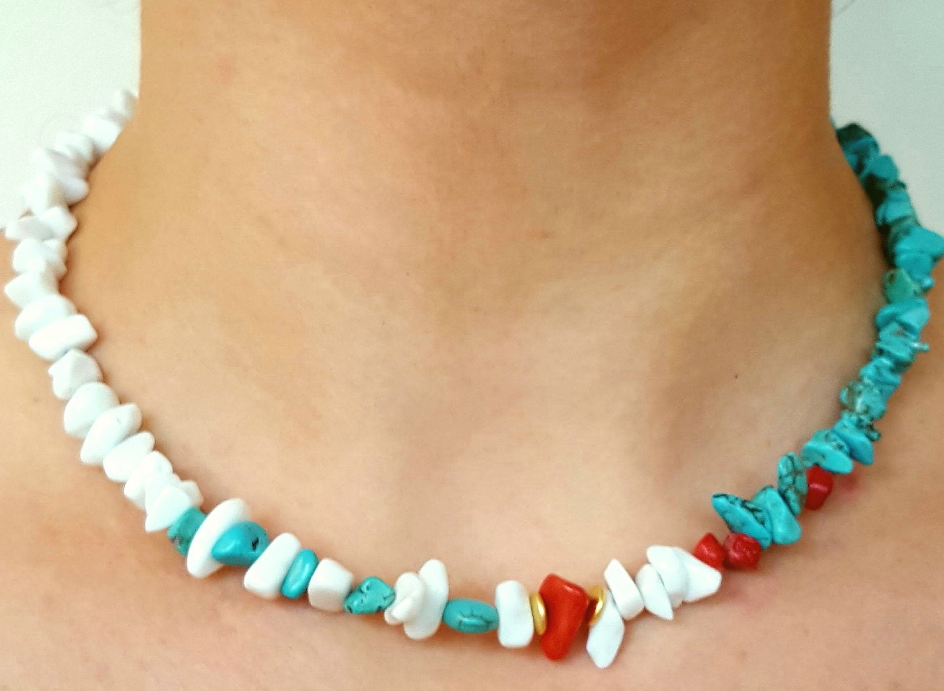Reminiscences of Summer - Short necklace