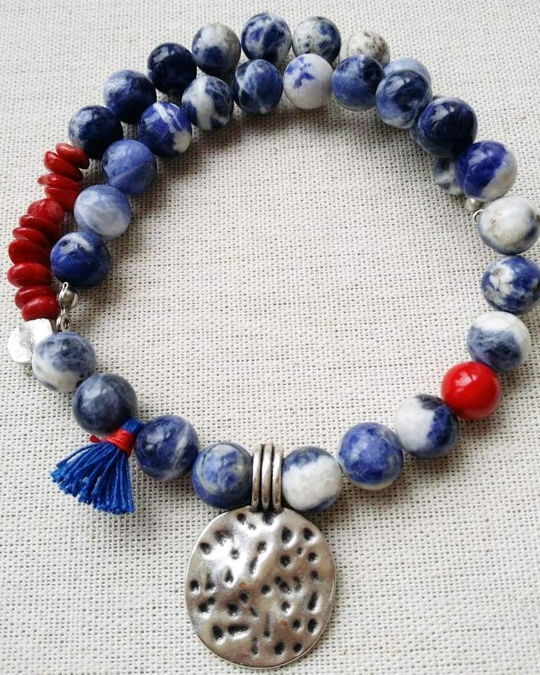 """Taste of Spring"" Sodalite Set"