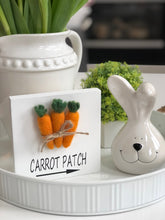 Load image into Gallery viewer, Wood Sign - Carrot Patch