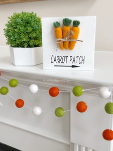 Wood Sign - Carrot Patch