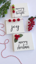 Load image into Gallery viewer, Wood Sign - Merry Christmas