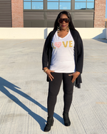 Love V neck T-Shirt