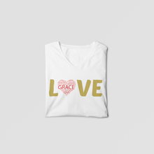 Load image into Gallery viewer, Love V neck T-Shirt