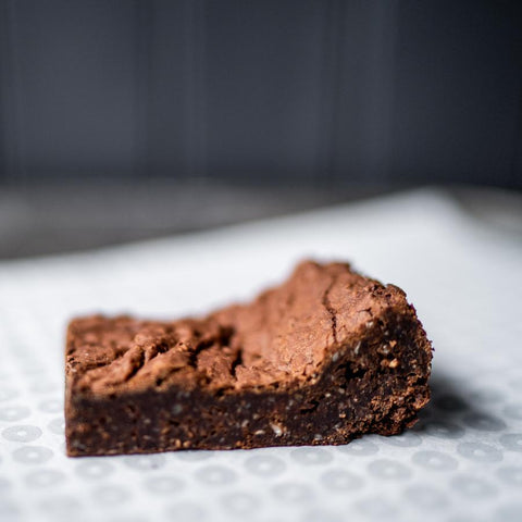 Chocolate Fudge Brownie * Contains Nuts (V)