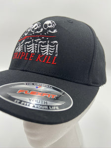 Triple Kill Logo 6-Panel Kids Flexfit