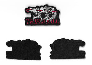Triple Kill Brand Embroidered Patch