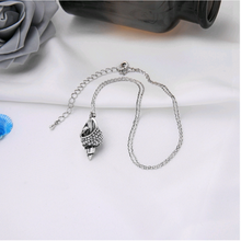 "Load image into Gallery viewer, ""Ariel"" Seashell Crystal Pendant Necklace"