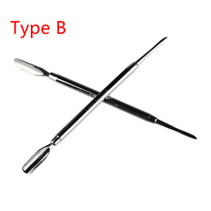 LTQ Stainless Steel DAB Tool 3 Types Dabber Tools Metal Titanium Nail for Wax and Dry Herb Vaporizer