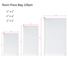 Load image into Gallery viewer, Micron Rosin Heat Press Bag for Heat Pressing Rosin Oil Extraction Filtration Bag 10pcs Pack