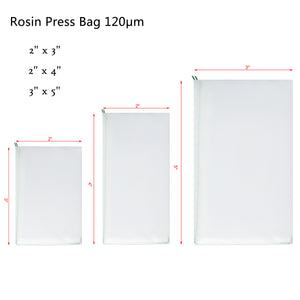 Micron Rosin Heat Press Bag for Heat Pressing Rosin Oil Extraction Filtration Bag 10pcs Pack
