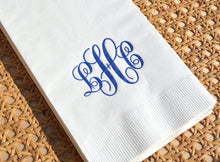 Load image into Gallery viewer, Classic Script Monogram Napkins & Guest Towels