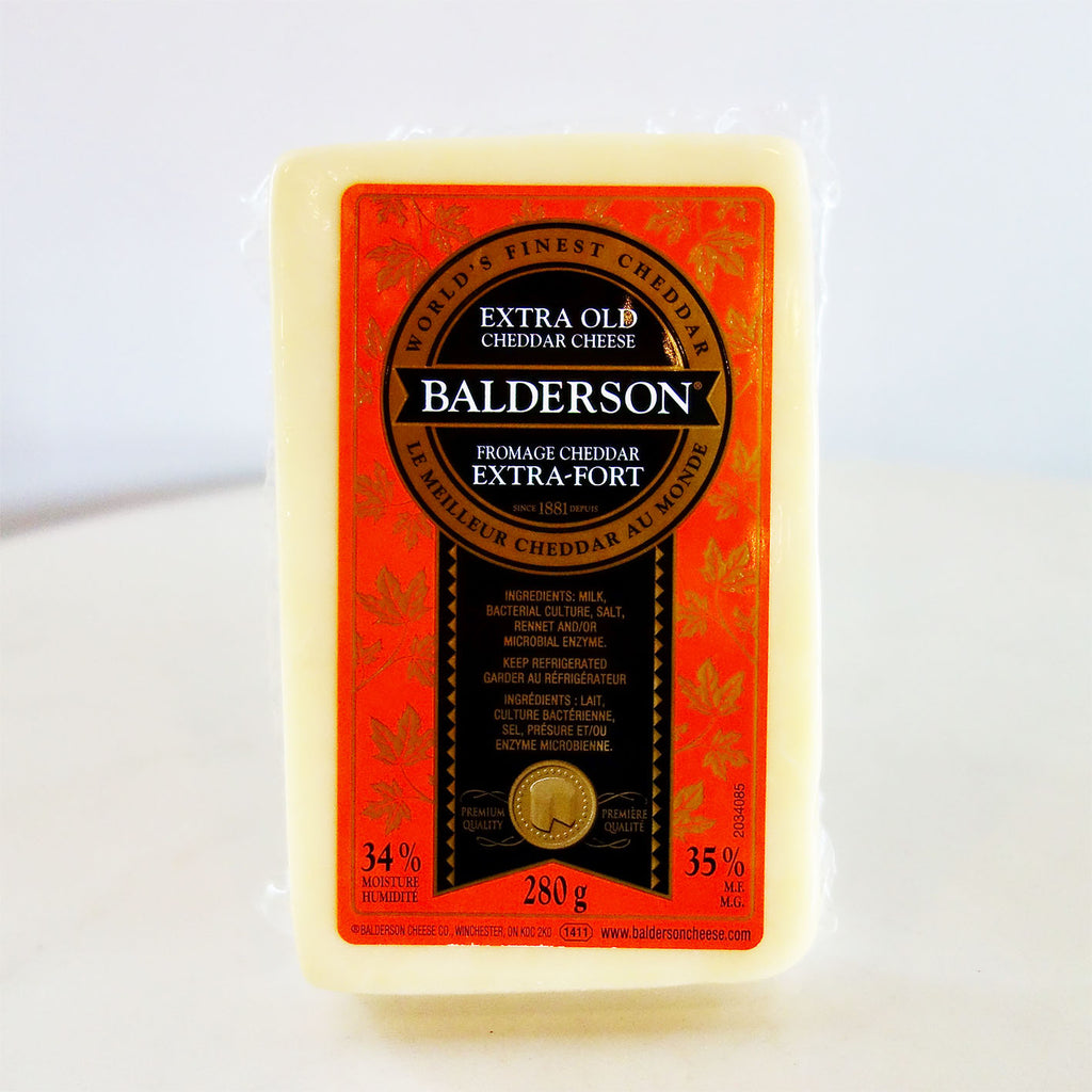 Balderson Extra Old Cheddar Cheese