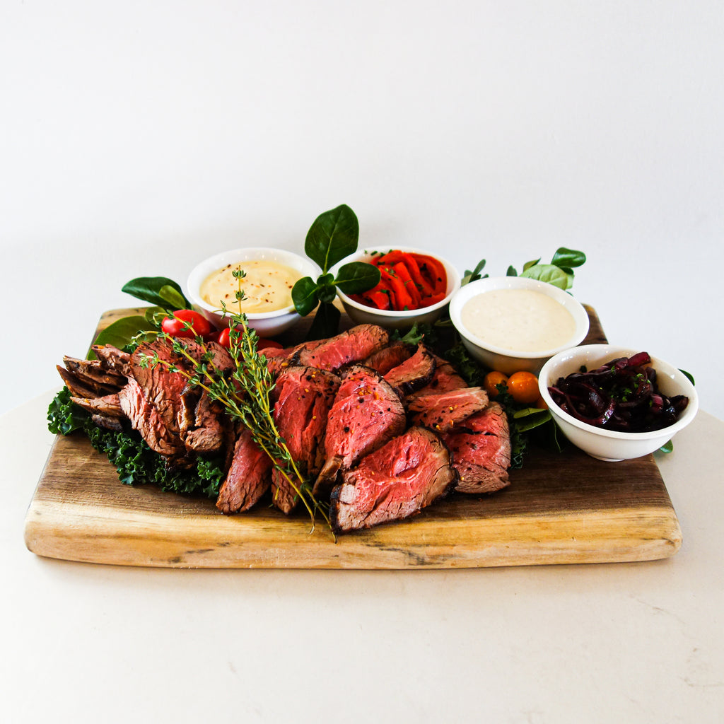 Hearty Beef Tenderloin Platter