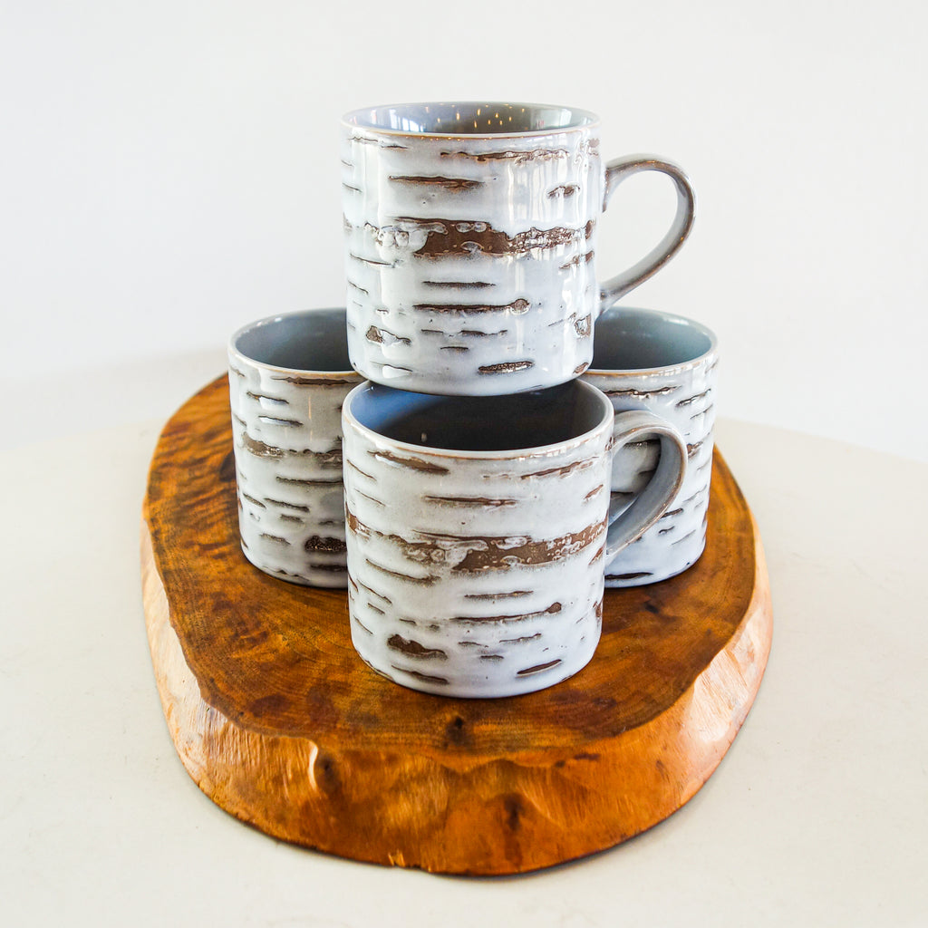 Birch Cappuccino Cups