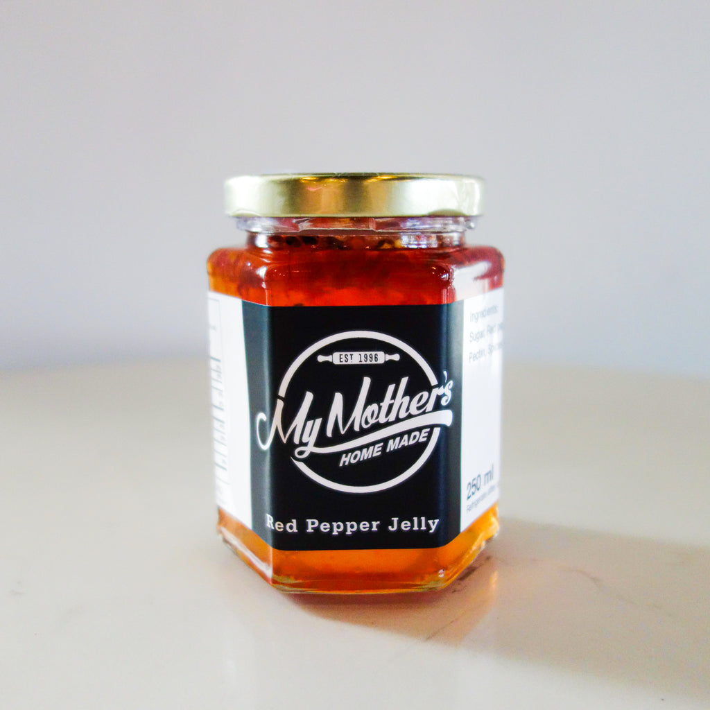 My Mother's Homemade Red Pepper Jelly