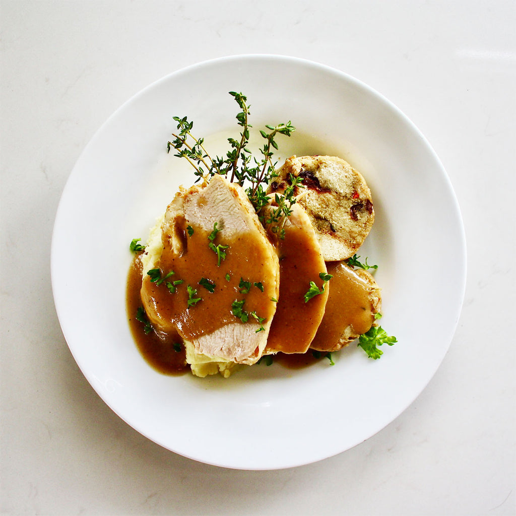 Roast Turkey, Gravy & Stuffing - Frozen