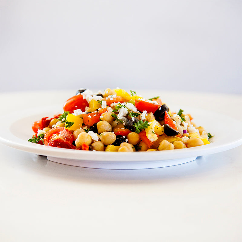 Chickpea & Sundried Tomato Salad