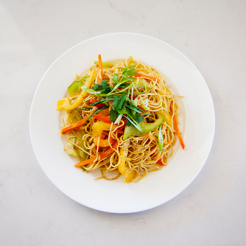 Vegetarian Thai Noodle Salad