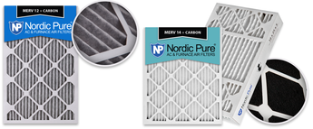 Pleated Carbon AC Furnace Filters