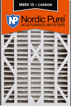 16x25x3 Air Bear Cub Replacement MERV 15 Plus Carbon Qty 1 - Nordic Pure