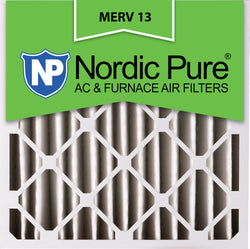 24x24x4 Pleated MERV 13 AC Furnace Filters Qty 1 - Nordic Pure