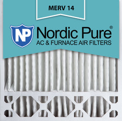 20x20x5 Honeywell Replacement Pleated MERV 14 Air Filters Qty 4 - Nordic Pure
