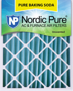 20x25x4 Pure Baking Soda AC Furnace Air Filters Qty 1 - Nordic Pure