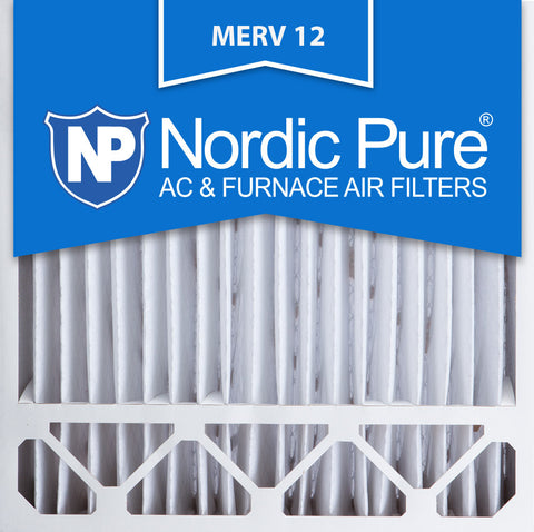 20x20x5 Honeywell Replacement Pleated MERV 12 Air Filters Qty 1 - Nordic Pure