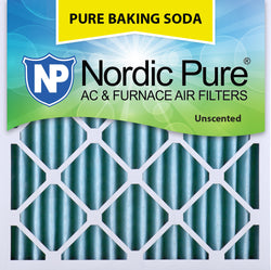 16x16x2 Pure Baking Soda AC Furnace Air Filters Qty 3 - Nordic Pure