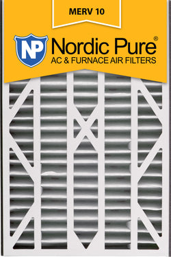 16x25x3 Air Bear Cub Replacement MERV 10 Qty 7 - Nordic Pure