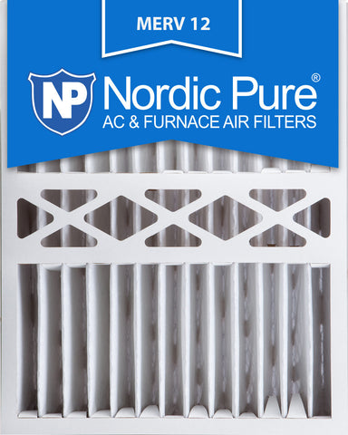 16x20x5 Honeywell Replacement Pleated MERV 12 Qty 2 - Nordic Pure