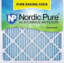 14x14x1 Pure Baking Soda AC Furnace Air Filters Qty 3 - Nordic Pure