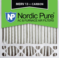 20x20x5 Honeywell Replacement MERV 13 Plus Carbon Qty 4 - Nordic Pure