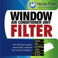 15x24 Window AC Filter Sheet - Nordic Pure
