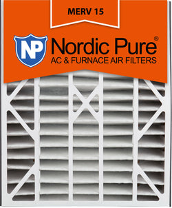 20x25x5 Air Bear Replacement MERV 15 Qty 2 - Nordic Pure
