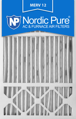 16x25x5 Honeywell Replacement Pleated MERV 12 Air Filters Qty 1 - Nordic Pure