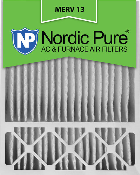 20x25x5 Honeywell Replacement Pleated MERV 13 Air Filters Qty 1 - Nordic Pure