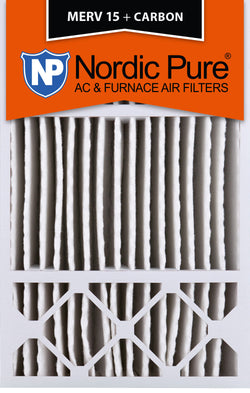16x25x5 Honeywell Replacement MERV 15 Plus Carbon Qty 2 - Nordic Pure