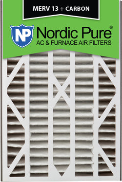 16x25x3 Air Bear Cub Replacement MERV 13 Plus Carbon Qty 1 - Nordic Pure