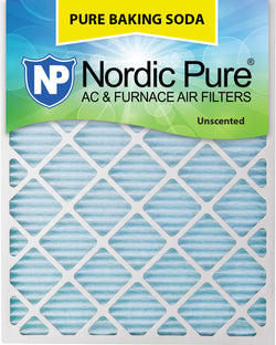 16x30x1 Pure Baking Soda AC Furnace Air Filters Qty 3 - Nordic Pure