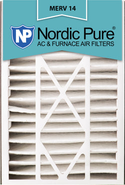 16x25x5 Air Bear Replacement MERV 14 Qty 4 - Nordic Pure