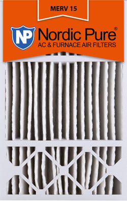 16x25x5 Honeywell Replacement Pleated MERV 15 Air Filters Qty 2 - Nordic Pure