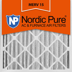 24x24x4 Pleated MERV 15 AC Furnace Filters Qty 1 - Nordic Pure