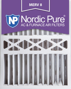 16x20x5 Honeywell Replacement Pleated MERV 8 Qty 2 - Nordic Pure
