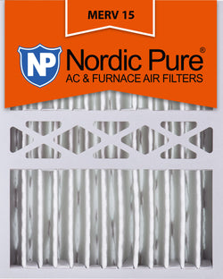 16x20x5 Honeywell Replacement Pleated MERV 15 Qty 4 - Nordic Pure